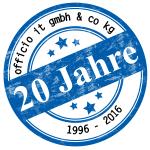 20 Jahres Logo