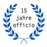 15 Jahres Logo Officio